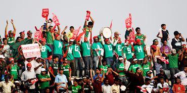 Bangladesh cricket fans