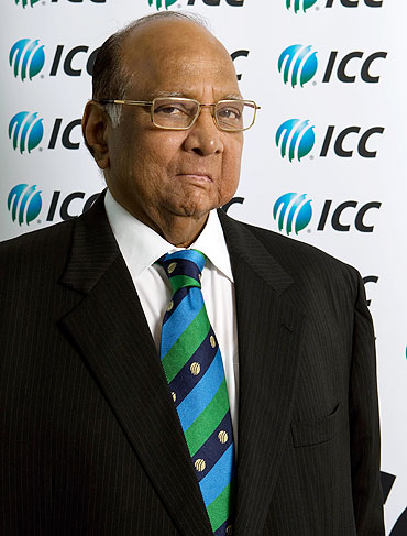 ICC President Sharad Pawar