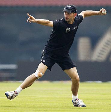 New Zealand's Andy McKay