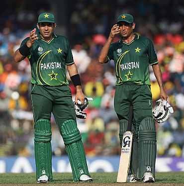 Misbah-ul Haq and Younis Khan