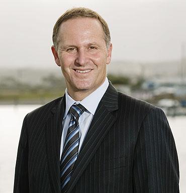 New Zealand's Prime Minister John Key