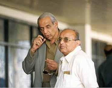 Jaywant Lele and Raj Singh Dungarpur