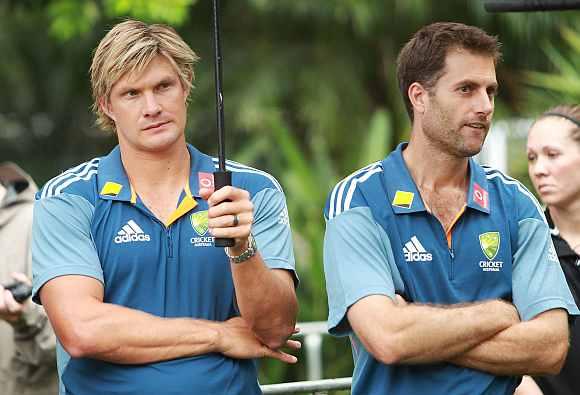 Shane Watson and Simon Katich