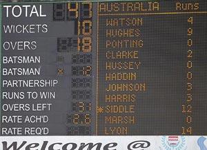 Oz Scoreboard