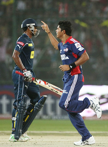 Umesh Yadav (right)
