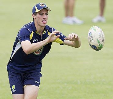 Australia's Patrick Cummins