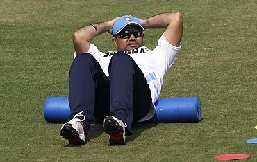 Sehwag raring to go against the Windies