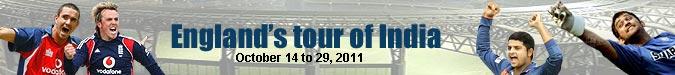 India's tour of England 2011