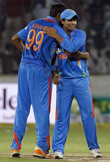 R Ashwin and Ravindra Jadeja