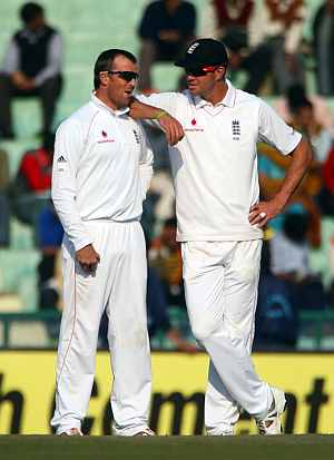 Kevin Pietersen and Graeme Swann