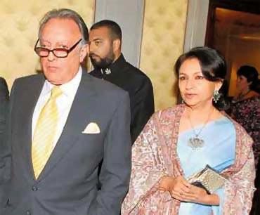 Mansur Ali Khan Pataudi with Sharmila Tagore