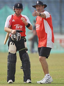 Graham Googh with Ian Bell