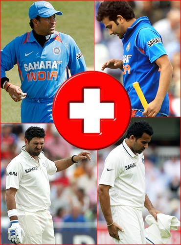 Team India battered and bruised in England