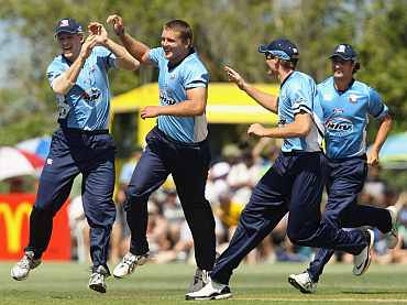 Auckland Aces players in action