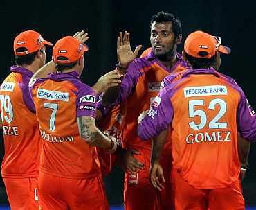 Kochi Tuskers team
