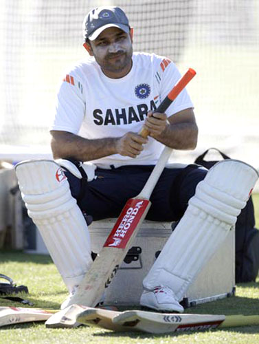 Virender Sehwag's inclusion will be doubtful