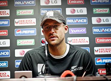 RCB captain Daniel Vettori