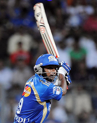 Mumbai Indians' Ambati Rayudu struck 47 off 32 on Wednesday