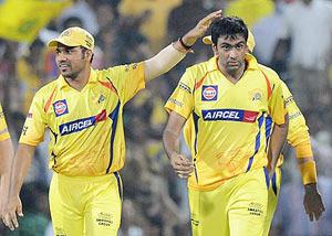 S Jakati with Ashwin