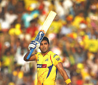 Vijay's poor form has forced CSK to drop him