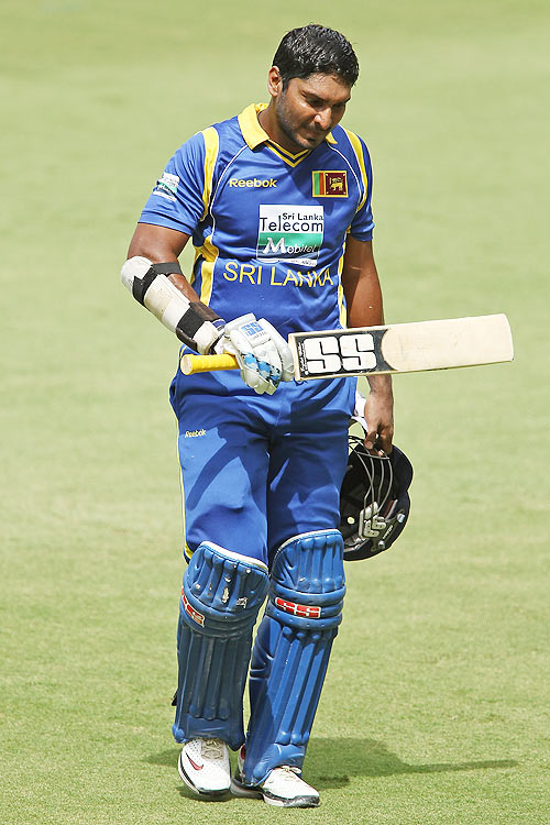 It takes courage to do what Sangakkara did