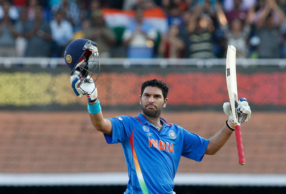 'I am happy that Yuvraj has made a comeback'