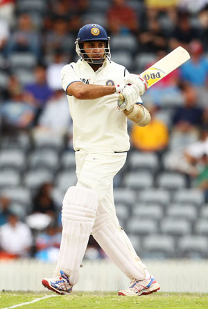 Laxman has a Test average of 45.97