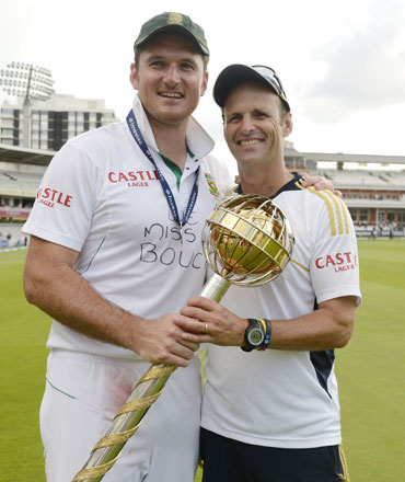 Graeme Smith and Gary Kirsten