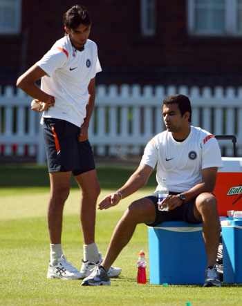Zaheer Khan will spearhead the pace attack