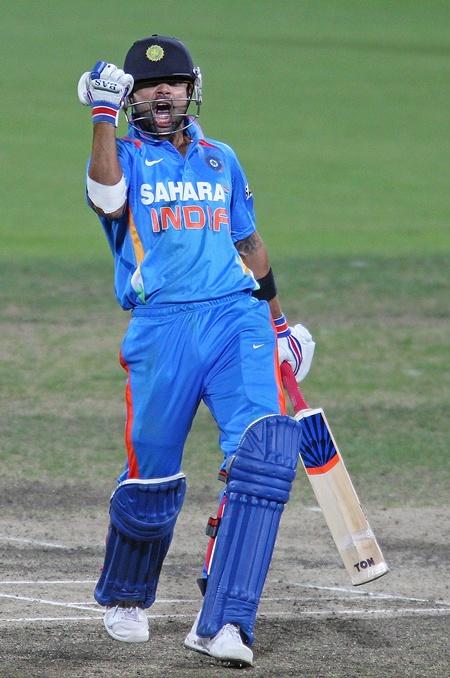 Virat Kohli Going From Strength To Strength Rediff Cricket
