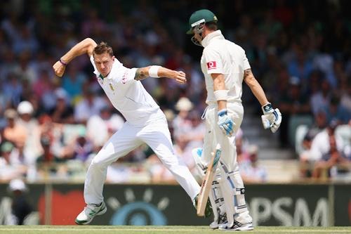 Steyn rattles Australia