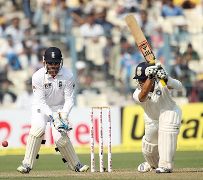 Tendulkar in full flow at the Eden Gardens on Wednesday