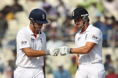 Nick Compton and Alastair Cook