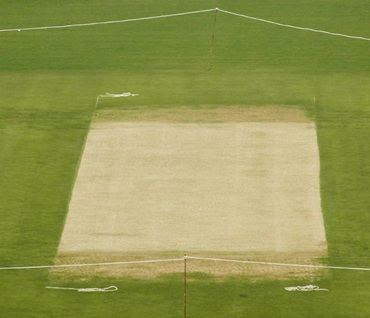 The strip on which the fourth Test will be played