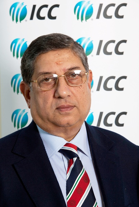 In or out?: N Srinivasan
