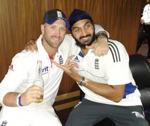 First Look: England celebrate Test series win in India
