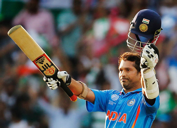 Sachin's 139 vs Australia helped him get to 10,000 ODI runs