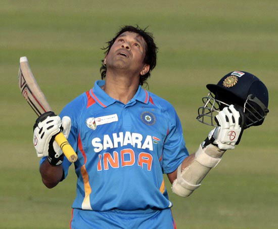 The first double in ODIs came in Gwalior