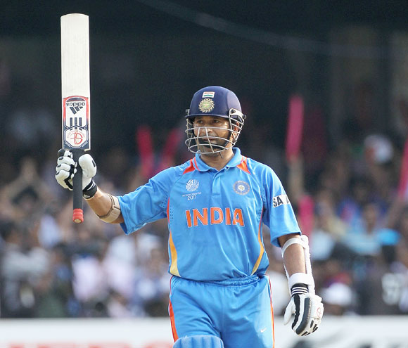 Tendulkar opened the innings with elan