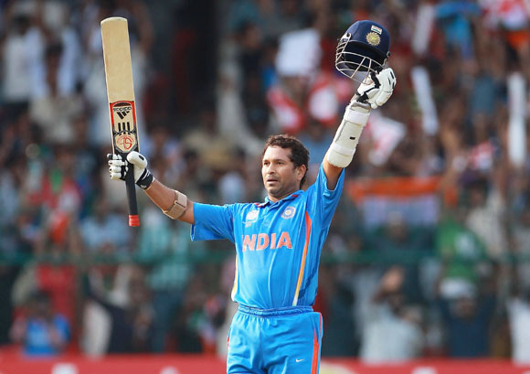 Sachin put his personal tragedy behind to score 140