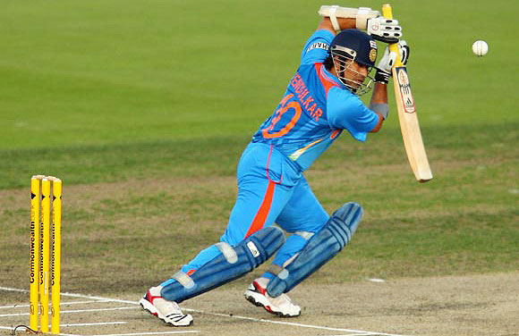 Sachin scored his first ODI century vs Australia