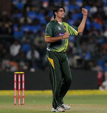 Rediff Cricket - Indian cricket - Pakistan bowler Irfan suspended for year over spot-fixing