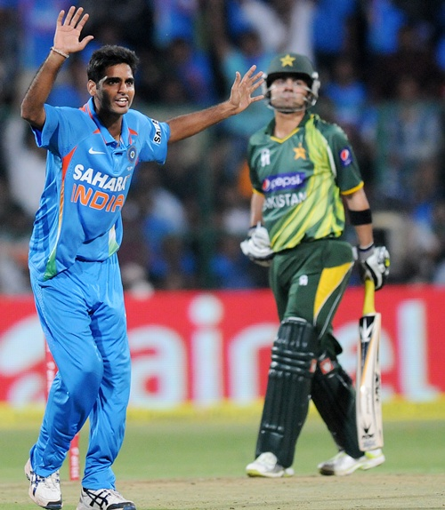 Stats: Bhuvneshwar is best debutant Indian fast bowler