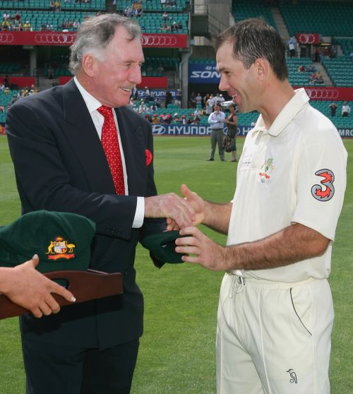 Ian Chappell and Ricky Ponting
