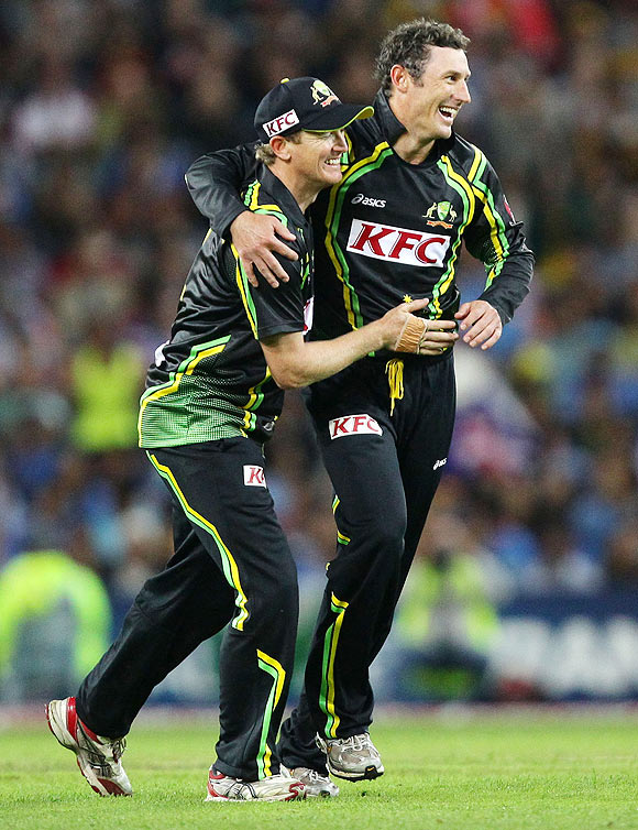 The early wickets helped: Bailey