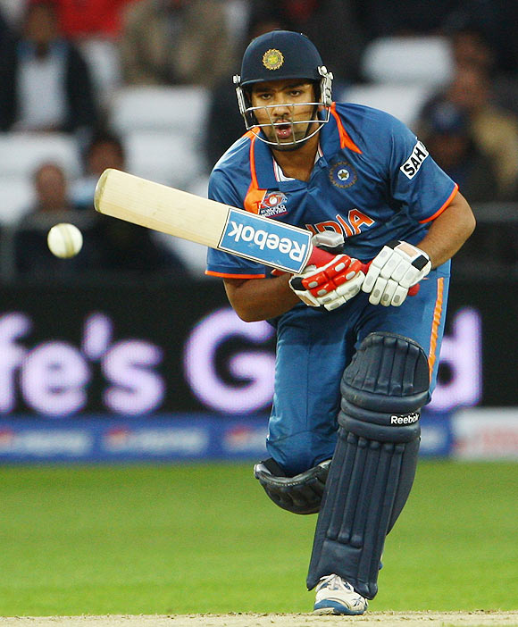 Rohit races past Raina