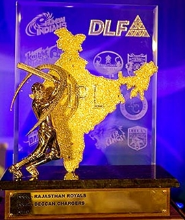 The DLF IPL trophy