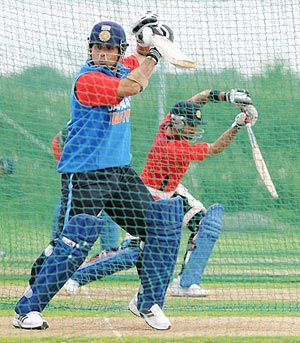 Tendulkar's batting was instrumental in the 2007-08 series