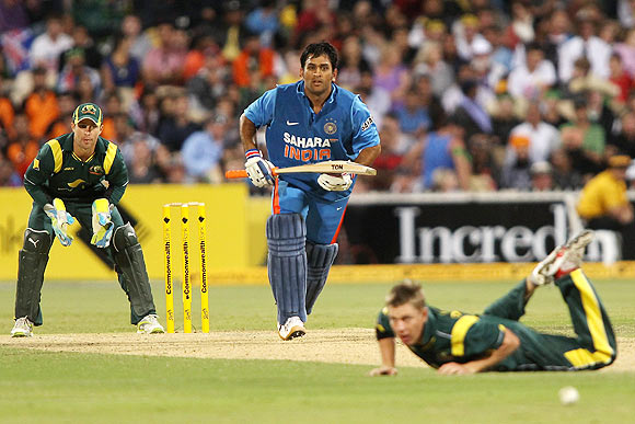 Dhoni has found his groove