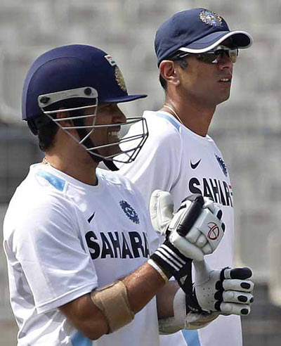 'It's hard to underestimate the abilities of Sachin, Dravid'